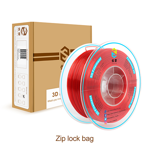 YOUSU PETG 3D Filament with multi-color, Tangle free  1.75mm 2.85mm1kg